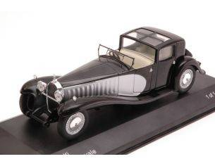 White Box WB221 BUGATTI TYPE 41 ROYALE 1927 BLACK/SILVER 1:43 Modellino