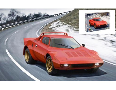 Italeri IT3654 LANCIA STRATOS HF 1974 KIT 1:24 Modellino