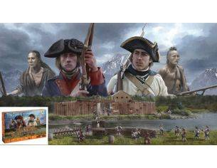 Italeri IT6180 FRENCH AND INDIAN WAR 1754-1763 KIT 1:72 Modellino