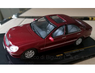 Ixo model MOC106 MERCEDES S500 W220 2000 DARK RED MET. 1:43 Modellino