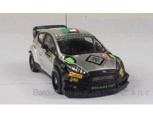 Ixo model RAM630 FORD FIESTA RS WRC N.37 ACCID.MONTE CARLO 2016 BERTELLI-SCATTOLIN 1:43 Modellino