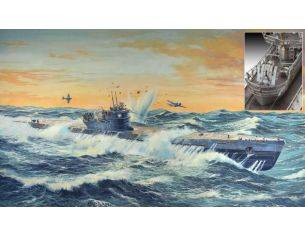 Revell RV05114 GERMAN SUBMARINE TIPE IX C KIT 1:72 Modellino