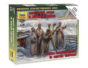 Zvezda Z6231 SOVIET HQ WINTER KIT 1:72 Modellino