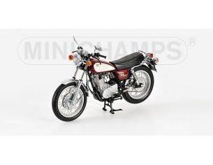 MINICHAMPS 122163400 YAMAHA SR 500 1998 RED & WHITE Modellino