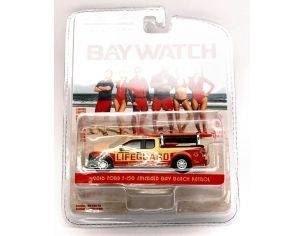 Greenlight GREEN44760F BAYWATCH FORD F-150 2016 LIFEGUARD BLISTER 1:64 Modellino