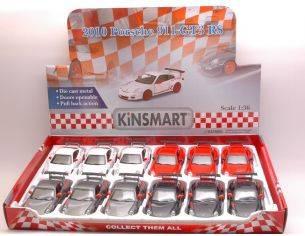 KINSMART KT5352D PORSCHE 911 GT3 RS 2010 1:36 Modellino