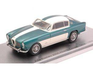 Kess Model KS43000260 ALFA ROMEO 2000 ABARTH COUPE' 1954 GREEN MET./WHITE 1:43 Modellino