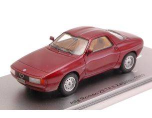 Kess Model KS43000280 ALFA ROMEO ZETA 6 ZAGATO 1983 METALLIC RED 1:43 Modellino