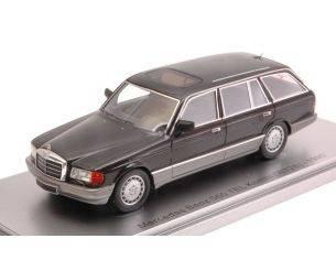 Kess Model KS43037020 MERCEDES 560 TEL KOMBI (W126) 1990 BROWN MET.LIM.400 1:43 Modellino