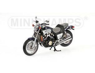 MINICHAMPS 122163700 YAMAHA VMAX BLUE 1993 Modellino