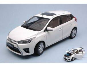 Paudi Model PD2317W TOYOTA YARIS L 2014 WHITE 1:18 Modellino