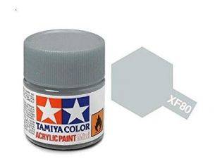 Tamiya XF-80 Royal Light Grey Colore Acrylic per modellismo