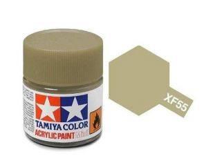Tamiya Mini XF-55 Deck Tan 10ml Colore Acrylic per modellismo