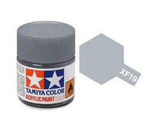 Tamiya Mini XF-19 Sky Grey 10ml Acrylic Color per modellismo