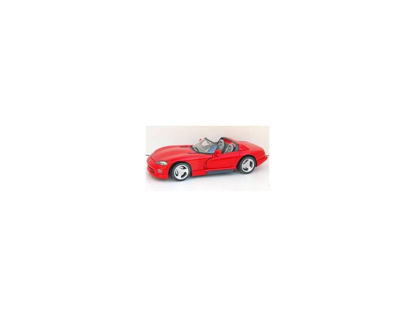 Anson 30318 DODGE VIPER RT 10 ROSSA 1:18 Modellino Scatola Rovinata