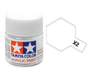 Tamiya Mini XF-66 Light Grey 10ml Acrylic Color per modellismo