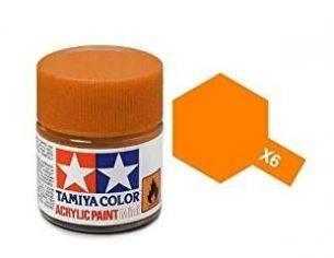 Tamiya Mini X-06 Orange 10ml Acrylic Color per modellismo