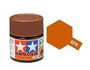 Tamiya Mini XF-06 Copper 10ml Acrilyc Color per modellismo