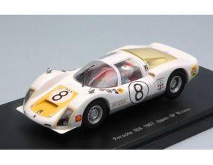 Ebbro EB45344 PORSCHE 906 N.8 WINNER JAPAN GP 1967 T.IKUZAWA 1:43 Modellino