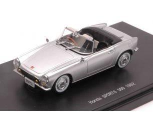 Ebbro EB45465 HONDA SPORTS 360 1962 SILVER 1:43 Modellino