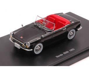 Ebbro EB45467 HONDA S500 1963 BLACK 1:43 Modellino