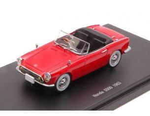 Ebbro EB45468 HONDA S500 1963 RED 1:43 Modellino