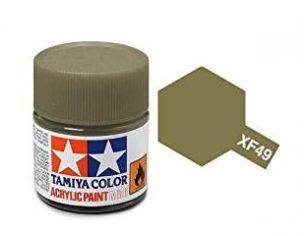 Tamiya Mini XF-49 Khaki 10ml Acrylic Color per modellismo