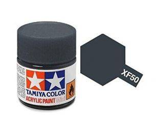 Tamiya Mini XF-50 Field Blue 23ml Acrylic Color per modellismo