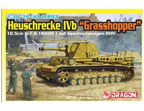 Dragon 6439 HEUSCHRECKE IVB GRASSHOPPER KIT 1:35 Mezzi Militari Modellino