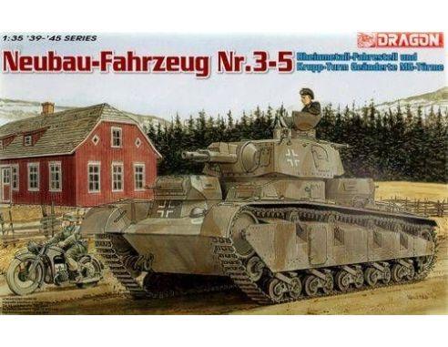 Dragon 6690 NEUBAU-FAHRZEYG NR3-5 KIT 1:35 Mezzi Militari