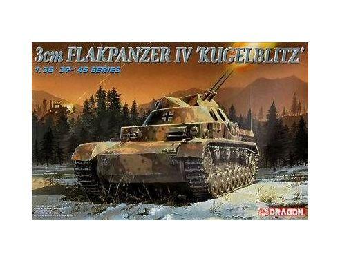 Dragon 6136 FLAKPANZER IV KUGELBLITZ KIT 1:35 Mezzi Militari Modellino