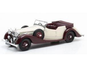 Matrix MX10105-031 ALVIS 4.3 LITRE CROSS & ELLIS TOURER WHITE/BROWN 1938 1:43 Modellino