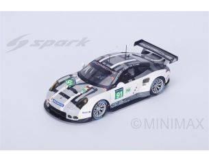 Spark Model S18274 PORSCHE 911 RSR (2016) N.91 DNF LM 2016 PILET-ESTRE-TANDY 1:18 Modellino