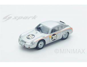 Spark Model S1878 PORSCHE 356B CARRERA ABARTH N.30 DNF LM 1962 B.PON-C.G.DE BEAUFORT 1:43 Modellino