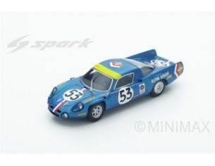 Spark Model S4374 ALPINE A210 N.53 11th LM 1968 B.WOLLEK-C.ETHUIN 1:43 Modellino
