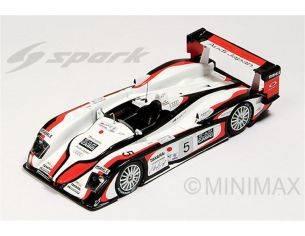 Spark Model S43LM04 AUDI R8 N.5 WINNER LM 2004 S.ARA-R.CAPELLO-T.KRISTENSEN 1:43 Modellino