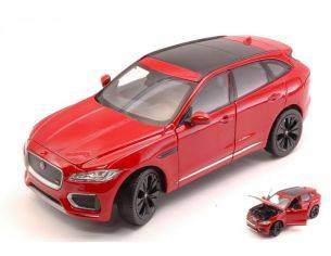 Welly WE24070R JAGUAR F-PACE (X761) 2016 RED 1:24 Modellino