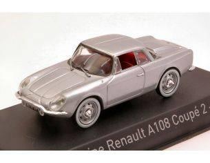 Norev NV517821 ALPINE A108 COUPE' 2+2 1961 SILVER 1:43 Modellino