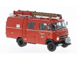 Neo Scale Models NEO96806 MERCEDES L319 BOXVAN FIRE BRIGADE 1961 1:43 Modellino