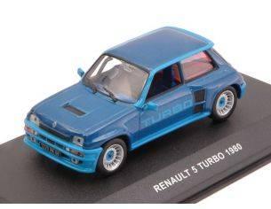 Solido SL4301300 RENAULT 5 TURBO 1980 METALLIC BLUE 1:43 Modellino