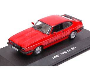 Solido SL4301700 FORD CAPRI 2.8i 1981 RED 1:43 Modellino