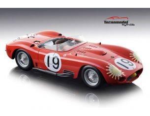Tecnomodel TMD1845C MASERATI 450S N.19 WINNER 12H SEBRING 1957 J.BEHRA-J.M.FANGIO 1:18 Modellino