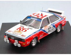 Trofeu TF1616 AUDI QUATTRO N.12 6th S.REMO 1982 CINOTTO-RADAELLI RE-EDITION 1:43 Modellino