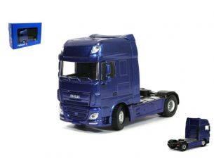 Universal Hobbies UH2008 DAF XF EURO 6 SUPER SPACE CAB 4x2 BLUE METALLIC 1:50 Modellino