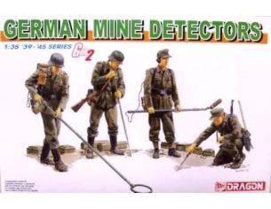 Dragon 6280 SOLDATI GERMAN MINE DETECTORS KIT 1:35 Personaggi