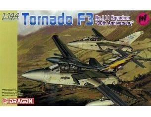 Dragon 4614 Tornado F3 111 Squadron 90th Anniversary 1:144 Kit Militari