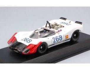 Best Model BT9666 PORSCHE 908/02 N.268 33th TARGA FLORIO 1969 B.REDMAN-R.ATTWOOD 1:43 Modellino