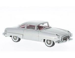 Neo Scale Models NEO45860 HUDSON ITALIA 1954 SILVER 1:43 Modellino