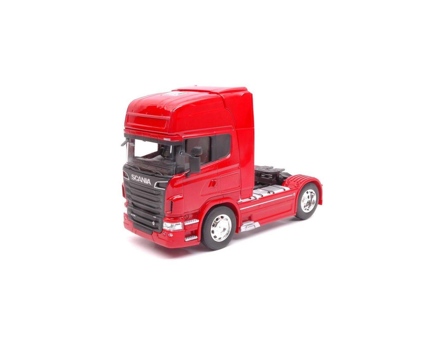 Welly we32670sr scania r730 v8 4x2 2015 red 1 32 modellino for 730 precompilato accedi