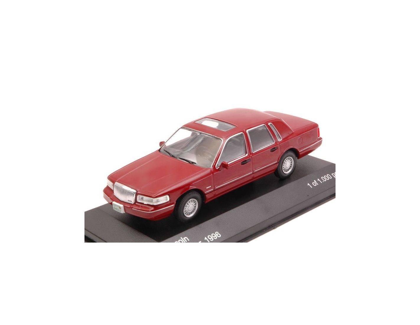White box wb133 lincoln town car 1996 amarant red 1 43 for 1 box auto
